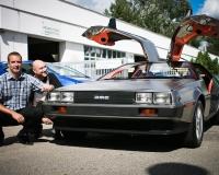 Renovace DeLorean DMC-12