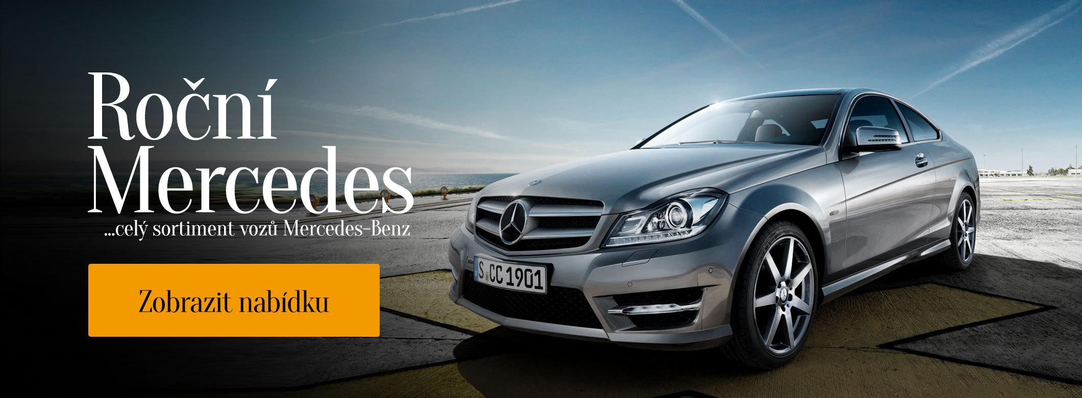 Roční Mercedes